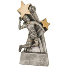 Female Volleyball Star Resin